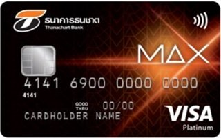 Thanachart Bank MAX Platinum MasterCard